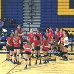 Fremont High School Girls Varsity Volleyball beat Santa Clara High School 3-0