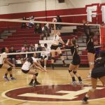 Fremont High School Girls Varsity Volleyball beat Wilcox High School 3-1