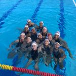 Fremont High School Girls Varsity Water Polo beat Monta Vista (Cupertino) High School 6-4