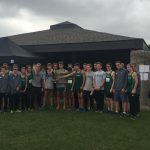 Traverse City West High School Boys Varsity Cross Country finishes 2nd place