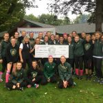 Traverse City West Ladies Cross Country Gives Back