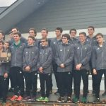 Traverse City West High School Boys Varsity Cross Country finishes 1st place
