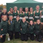 Traverse City West High School Girls Varsity Cross Country finishes 5th place
