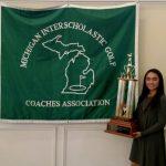 Anika Dy Michigan's Miss Golf!