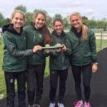 Girls Relay Qualifies For States