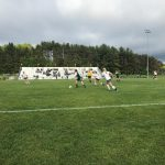 Traverse City West High School Girls Varsity Soccer beat Midland Dow H.S. 4-2