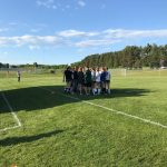 Traverse City West High School Girls Varsity Soccer beat T.C. Central  H.S. 7-3