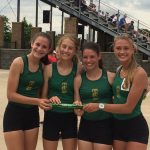 Traverse City West High School Girls Varsity Track finishes 10th place