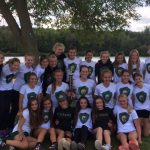 Traverse City West High School Girls Varsity Cross Country finishes 1st place