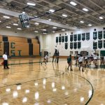 Traverse City West High School Girls Varsity Volleyball beat T.C. Central  H.S. 3-2