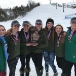 Girls Downhill Ski Regional Champs!