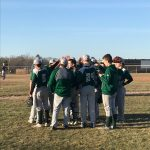 Boys Junior Varsity Baseball beats Greenville 9 – 0