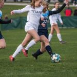 Girls Soccer - Petoskey at TC West - Photo Gallery