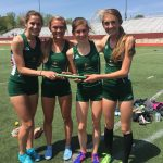 Girls Varsity Track finishes 4th place at (MHSAA Regional )