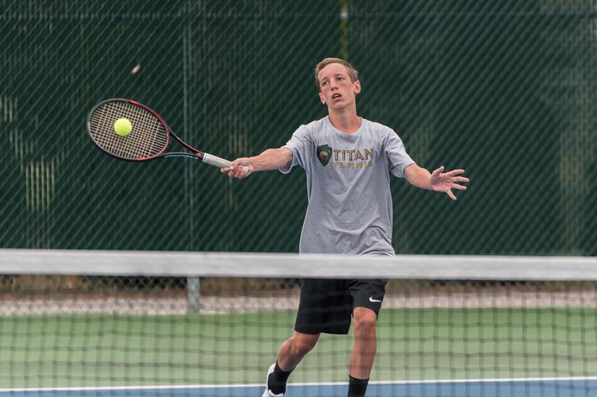 Tennis Wins Heritage Quad