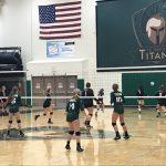 Titans Take JV Volleyball Invite