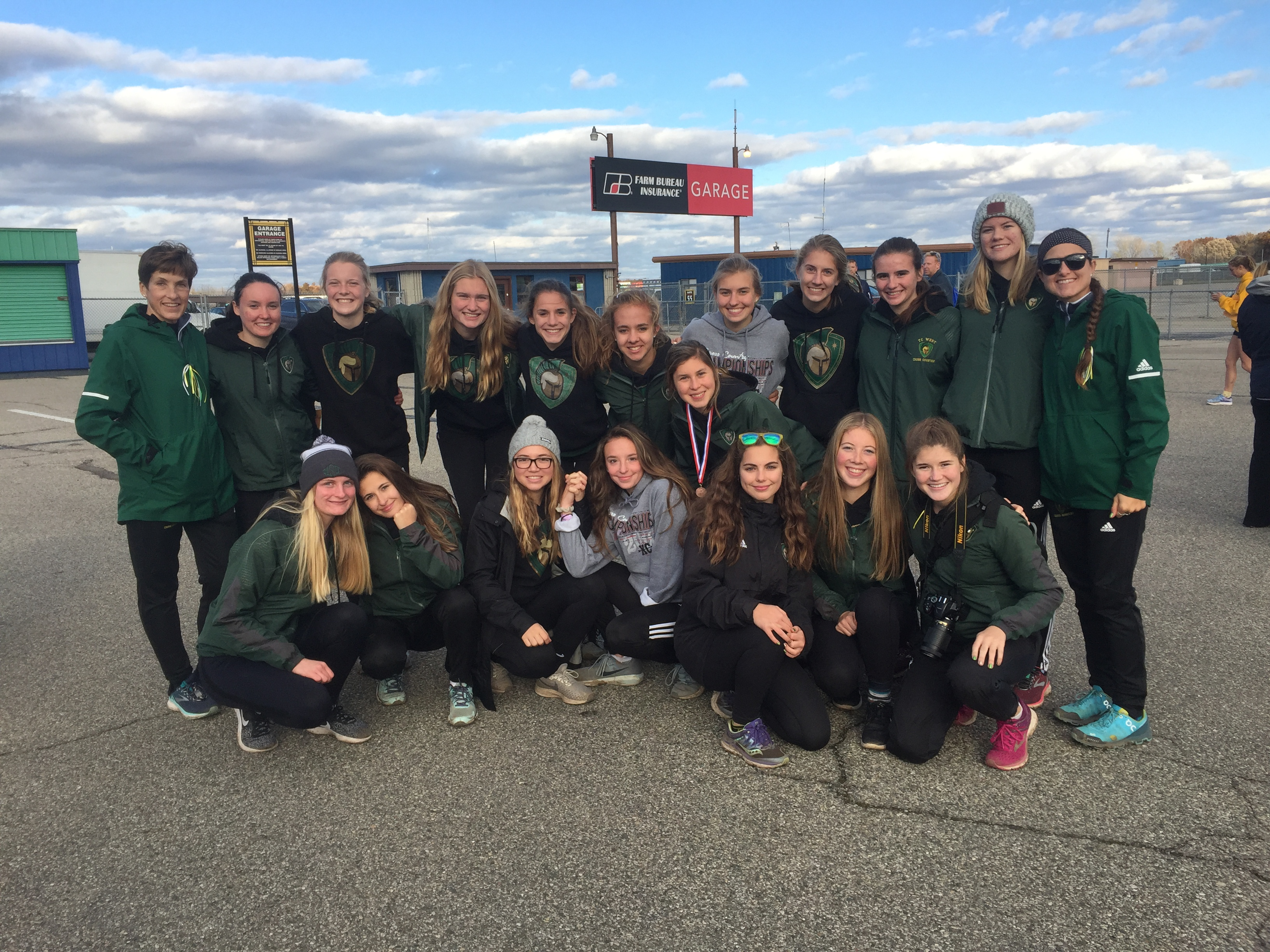 Girls Cross Country Finishes 12th @ MHSAA Finals