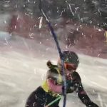 Schramski Skis to Win in Peppi Town Race!