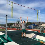 Griggs Sets New West Pole Vault Record!