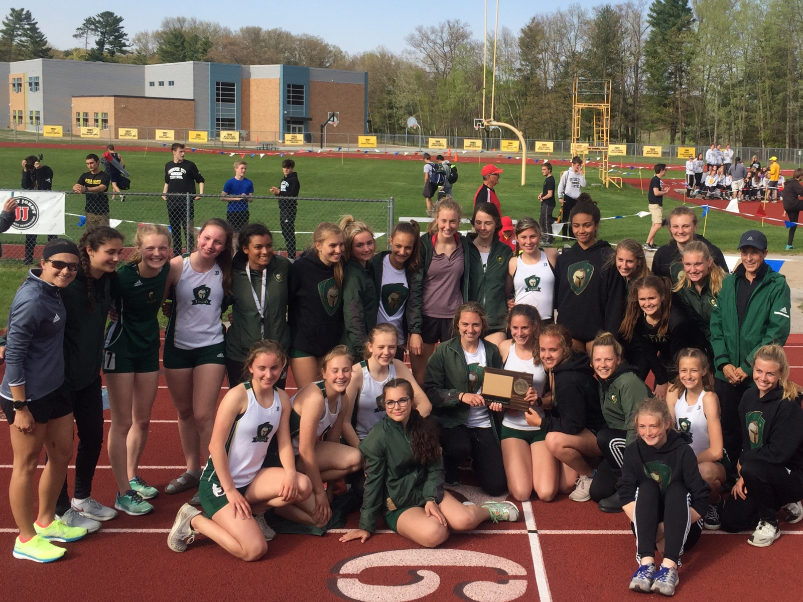 Titan Girls Track Takes BNC Crown!