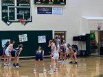 Girls Basketball Sweeps Cadillac!