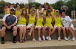 2020-2021 Girls Varsity Tennis at Regional Meet in Midland
