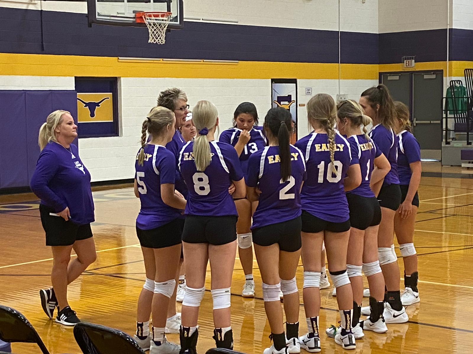 Varsity Volleyball 8/11/2020