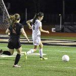 Girls Var soccer vs West pg 1