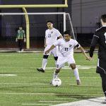 boys varsity soccer vs East pg 1