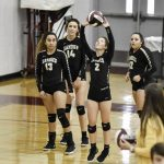 Var vball vs Flour Bluff Bi-District pg 1