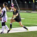var girls soccer vs El Campo