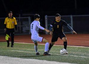 var boys soccer vs King