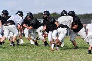 Fball scrimmage