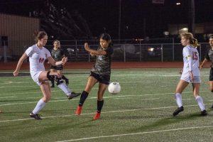 Var girls soccer vs Ray