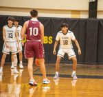 JV boys basketball vs Sinton