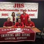 Swimmer Griffis Signs with Transylvania