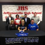 Emily Gray Signs with Lindsey Wilson