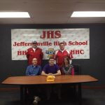 Burke Signs with Olivet Nazarene