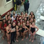 Jeffersonville High School Girls Varsity Swimming finishes 1st place