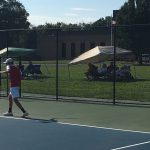 Jeffersonville High School Boys Varsity Tennis beat Providence High School 4-1