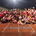Jeffersonville High School Girls Varsity Track finishes 1st place