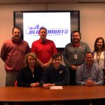 Two-sport standout Bailey Falkenstein to continue baseball career at Olney Central