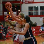 Red Devils falter in second half, fall to No. 1 Sacred Heart, 64-55