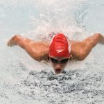 Swimmers have strong showing in three-team meet