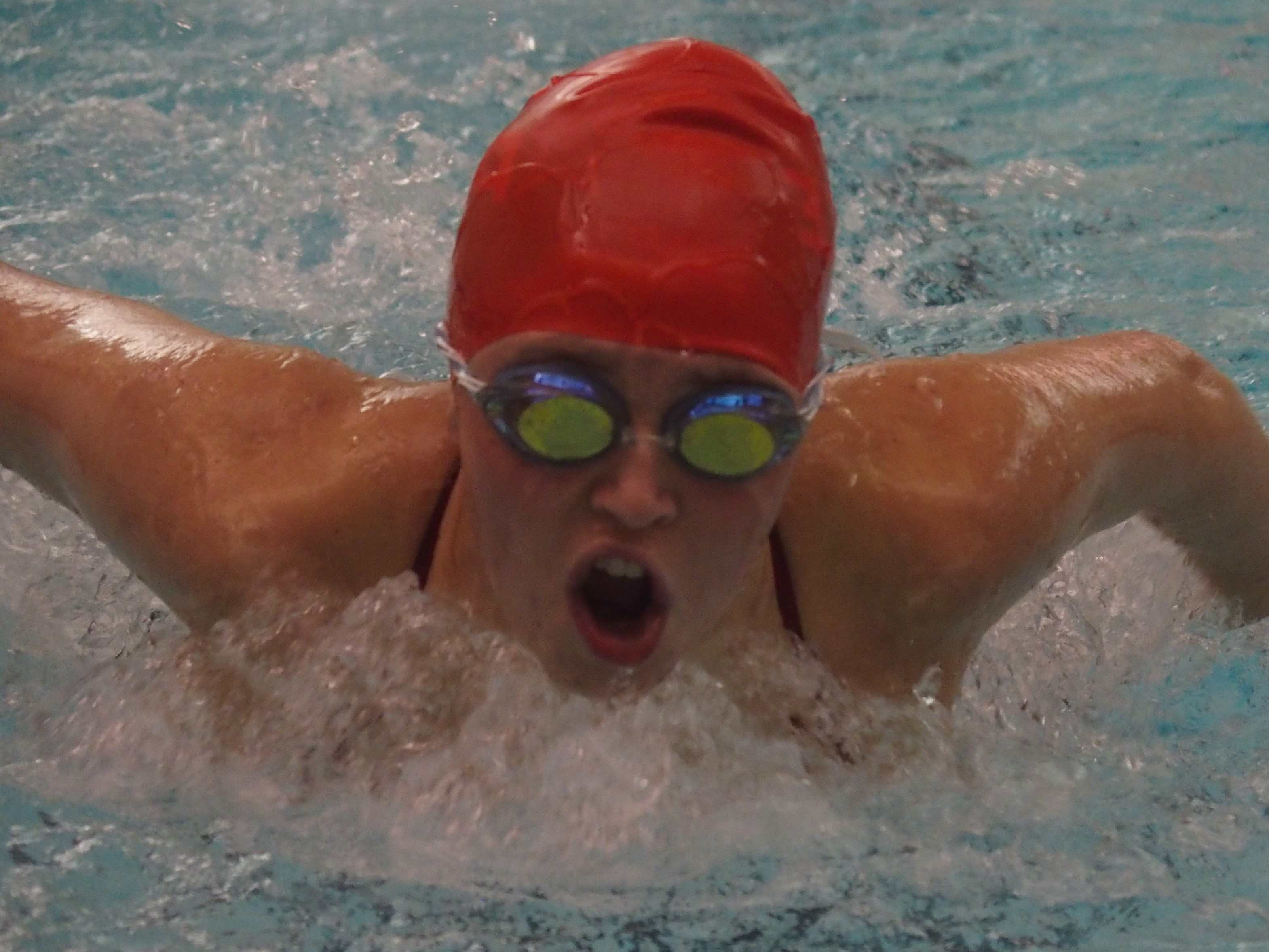 Swim teams sweep dual meet against Madison, Henryville