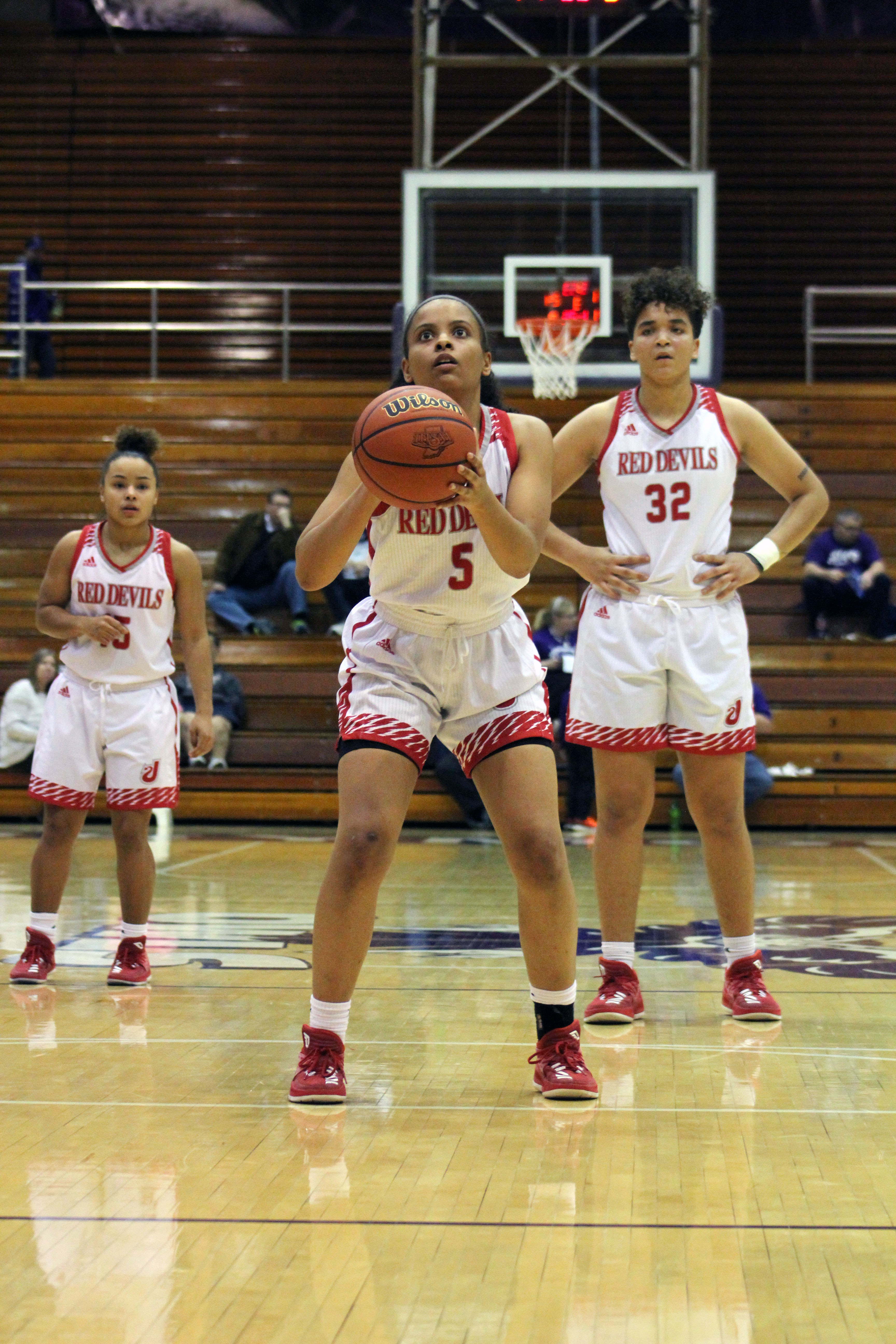 Lady Red Devils Take Down Seymour in Sectional Opener
