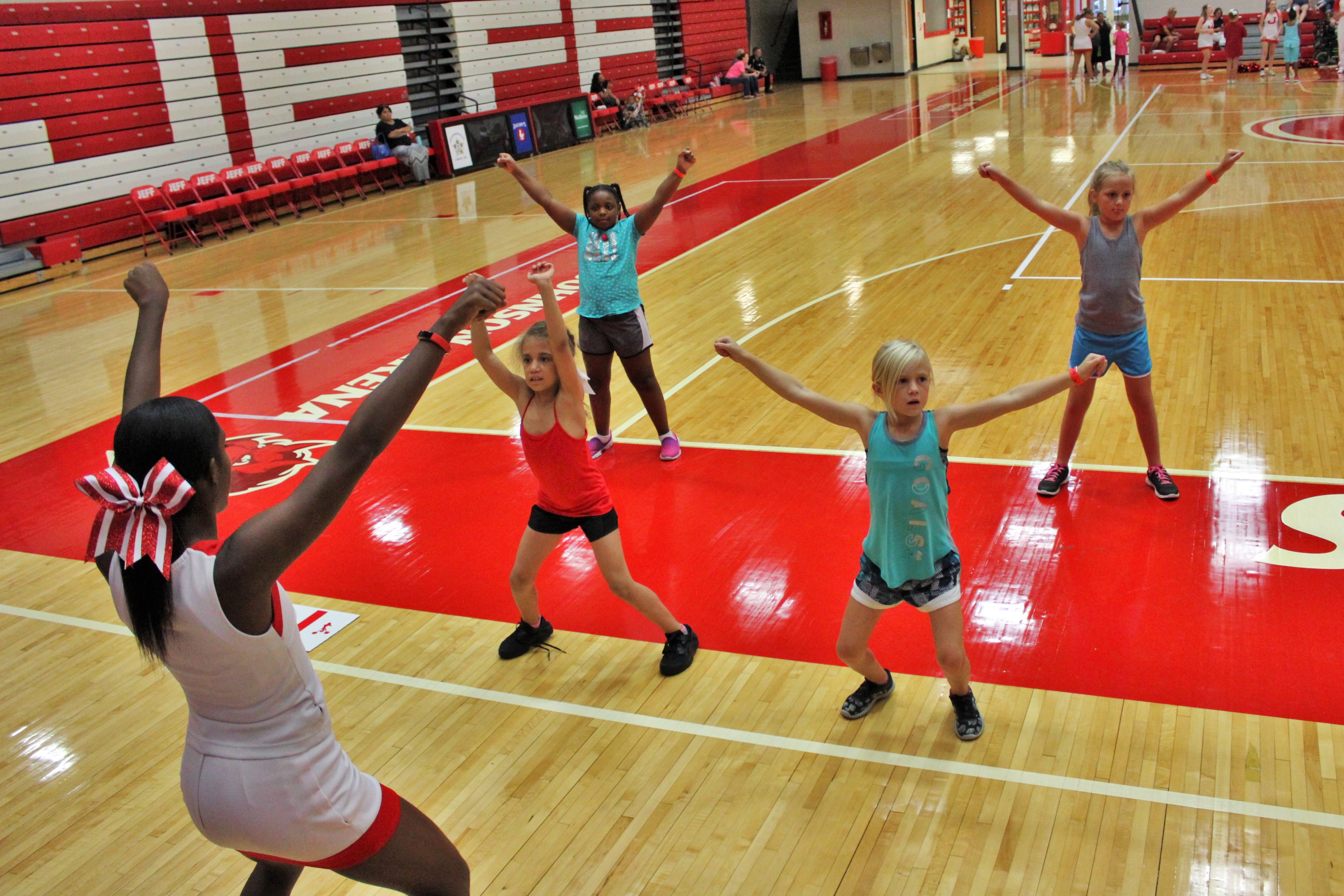 Jeffersonville High School Annual Cheerleading Clinic