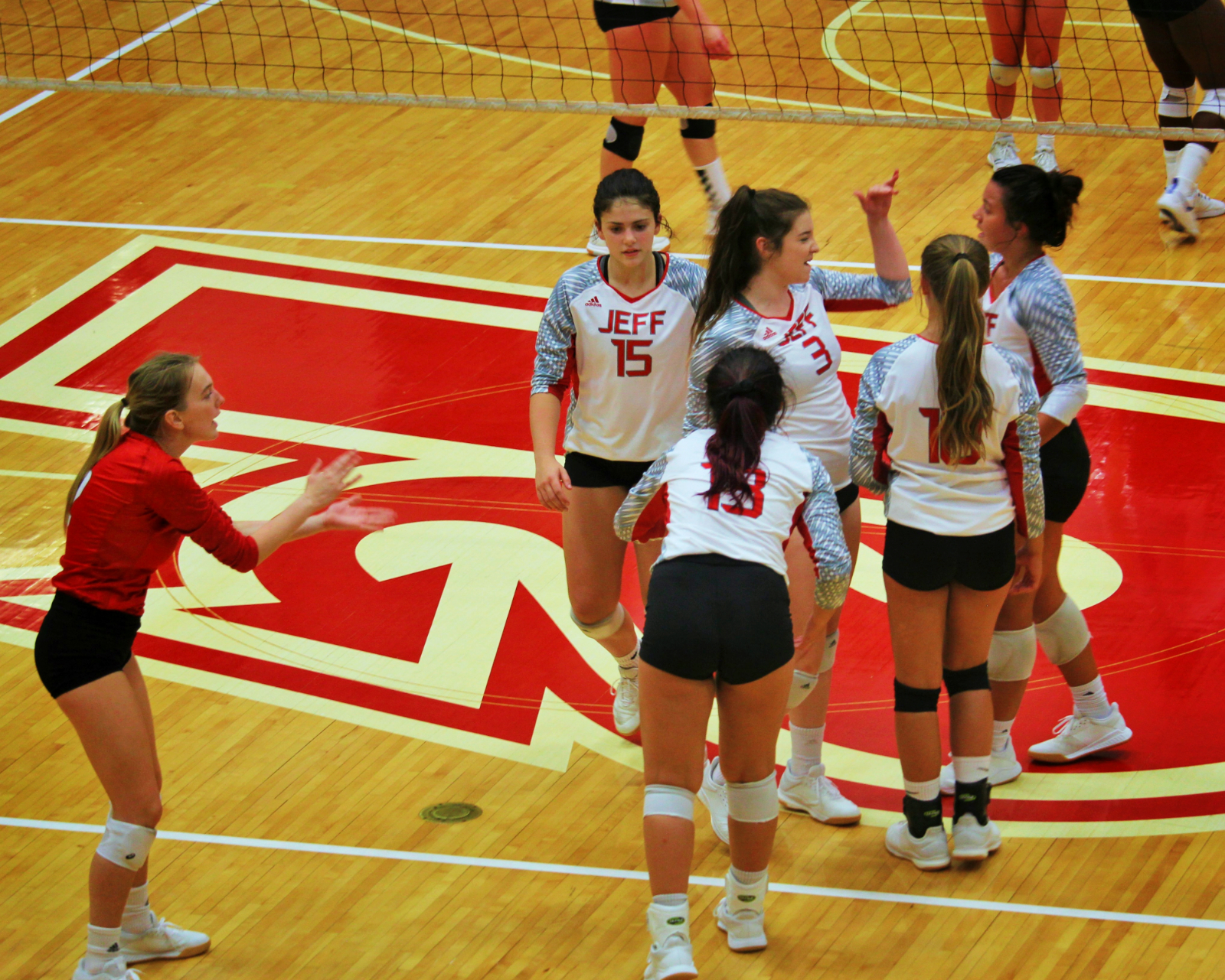 Red Devil Volleyball Defeats Charlestown in Home Opener