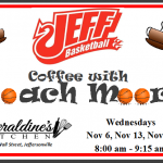 Coffee with Coach Moore @ Geraldine's Kitchen