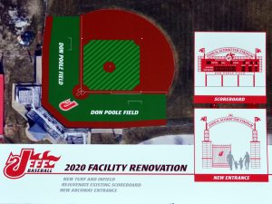 Baseball Field Renovation Dedication